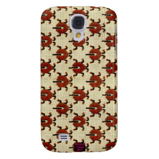 Ladybugs Cross-Stitch Embroidery Design Samsung S4 Case