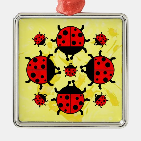 LADYBUGS DESIGN Ornament