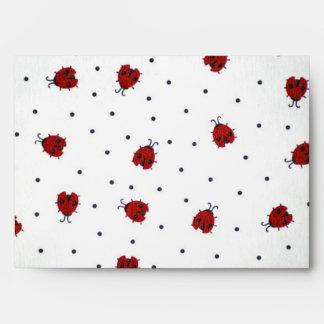 Ladybugs! Envelopes