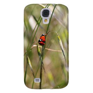 Ladybugs hugging on stem. samsung galaxy s4 cases