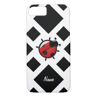 ladybugs illustration iPhone 8/7 case