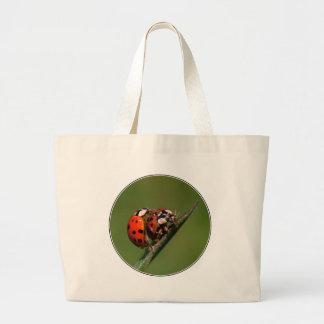 Ladybugs In Love Jumbo Tote Bag
