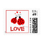 Ladybugs in Love Postage