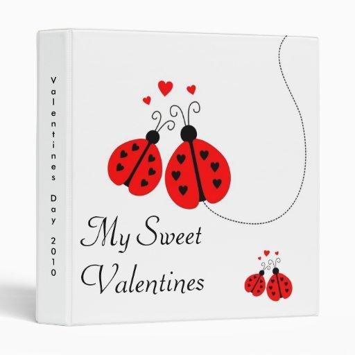 Ladybugs in Love Valentine Binder