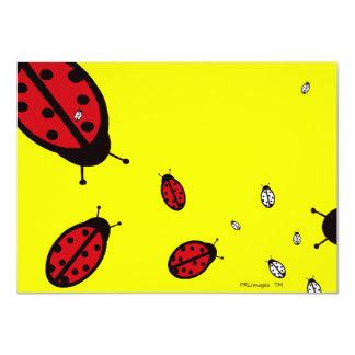 Ladybugs Invitation
