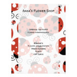 Ladybugs (Ladybirds, Lady Beetles) - Red Black Full Color Flyer