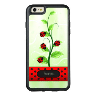 Ladybugs Ladybirds on Vine OtterBox iPhone 6 Plus OtterBox iPhone 6/6s Plus Case