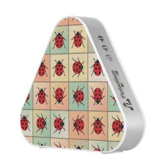 Ladybugs pattern bluetooth speaker
