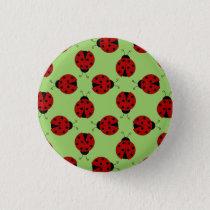 Ladybugs Pattern Button