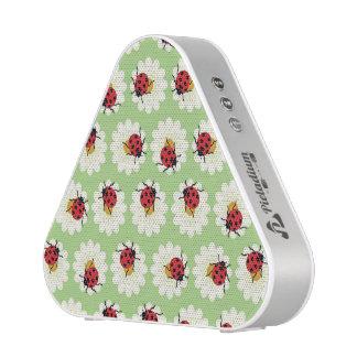Ladybugs pattern speaker