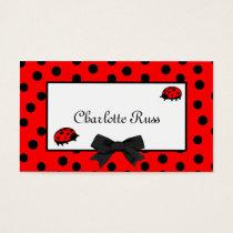 Ladybugs & Polka Dots Mommy Card