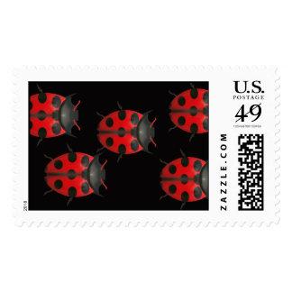 Ladybugs Postage Stamps