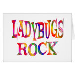 Ladybugs Rock Greeting Cards