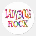 Ladybugs Rock Stickers