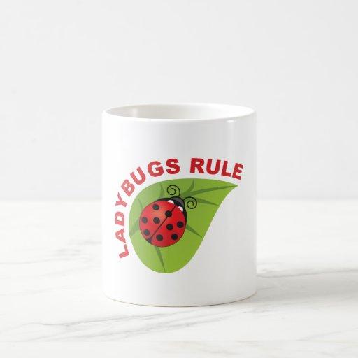 Ladybugs Rule Coffee Mug