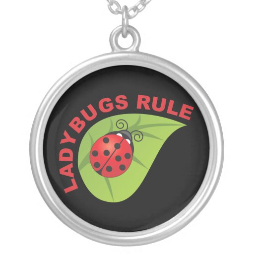 Ladybugs Rule Necklaces