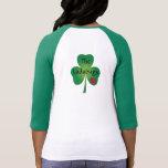 Ladybugs Shamrock 3/4 Sleeve Shirt