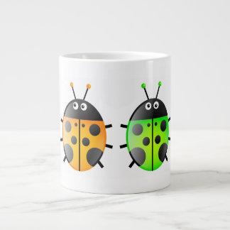 Ladybugs 20 Oz Large Ceramic Coffee Mug
