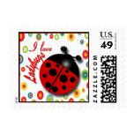Ladybugs Stamp