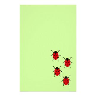 Ladybugs Stationery