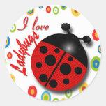 Ladybugs Sticker