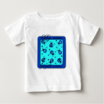 ladybugs swarm hydro awareness patch baby T-Shirt