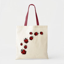 Ladybugs Tote Bag Environmental Ladybugs Tote Bag