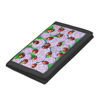 Ladybugs Trifold Wallets