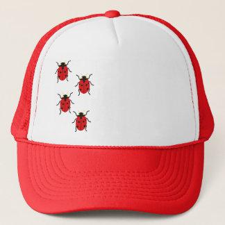Ladybugs Trucker Hat