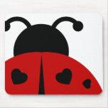 ladybugz. alfombrillas de ratón