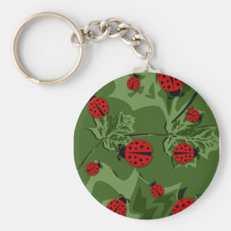 ladybugz. llavero redondo tipo pin