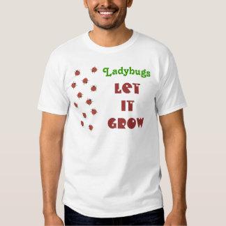 Ladybugz Pattern T-Shirt