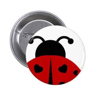 ladybugz. pinback button