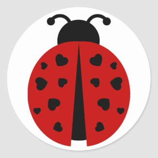 ladybugz. sticker