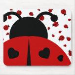ladybugz. tapetes de ratón