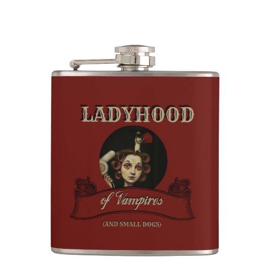 Ladyhood of Vampires Hip Flask