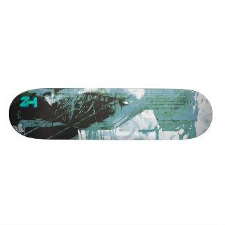 LadyLove Blue Skateboard Deck