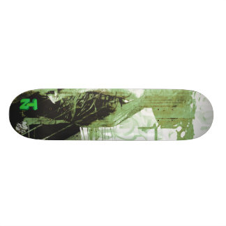 LadyLove Green Skateboard Deck
