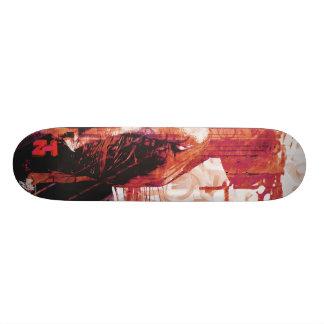 LadyLove&RedPink Skateboard