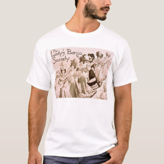 Lady's Banjo Society Ladies Tonal Stripe T-Shirt