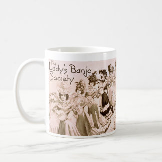 Lady's Banjo Society Mug