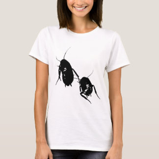 Lady's Cockroach Fitted T shirt