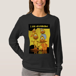 Lady's Long Sleeved Quacking Jumper T-Shirt