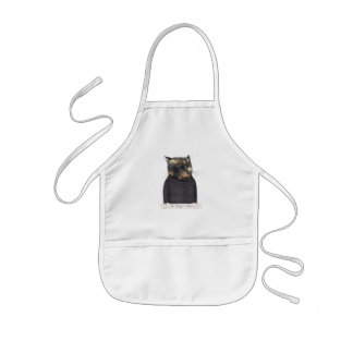 Lady's Maid Cat Kids Apron