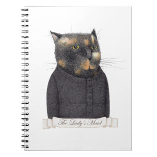 Lady's Maid Spiral Notebook