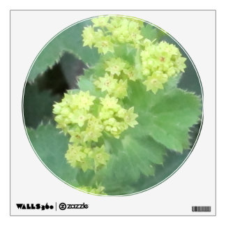 Lady's Mantle Flowers Wall Sticker