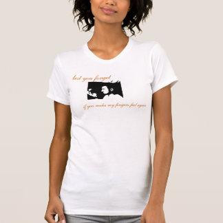 Lady's Profile Logo with Lyrics T-Shirt