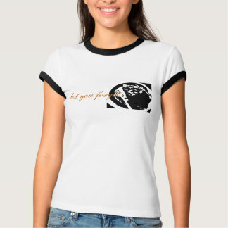 Lady's Ringer T with Meat Logo Tee Shirts