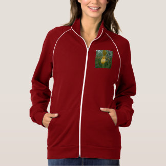 Lady's Slipper Women's Fleece Track Jacket