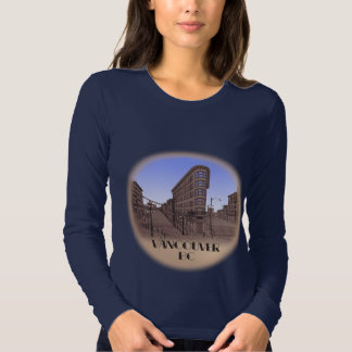 Lady's Vancouver T-shirt Souvenir Gastown Shirts